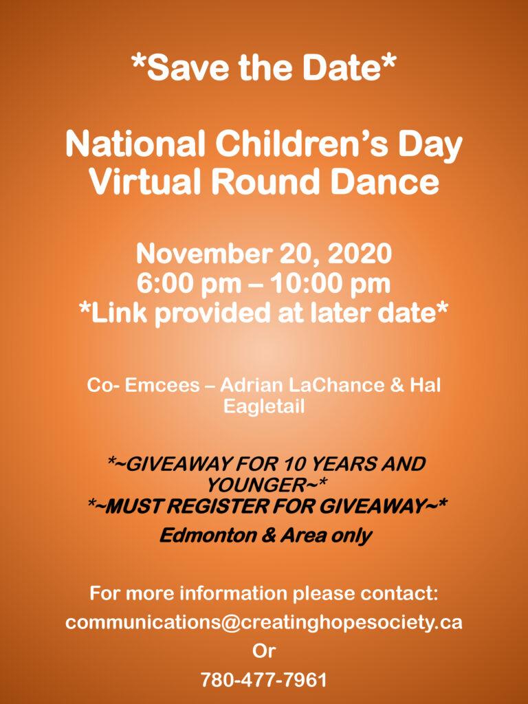 National Children's Day Virtual Round Dance Round Dance 768x1024