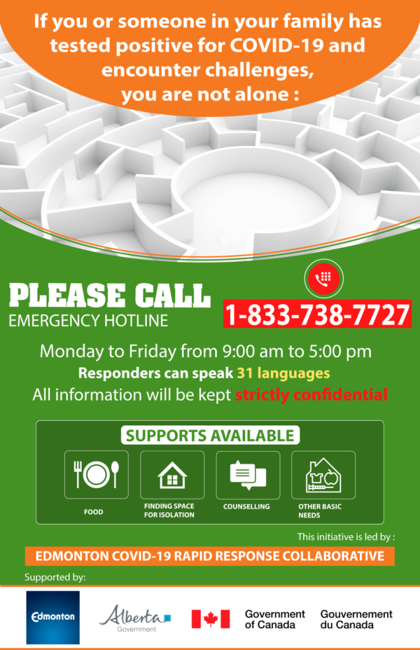 Edmonton COVID19 Rapid Response Collaborative Edmonton COVID 19 Rapid Response Poster English 600x928 Home Edmonton COVID 19 Rapid Response Poster English 600x928