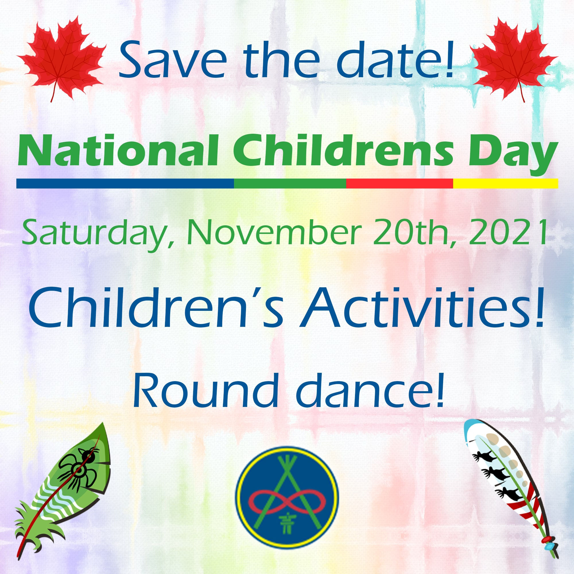 Save the Date! natinal childrens day 9 min